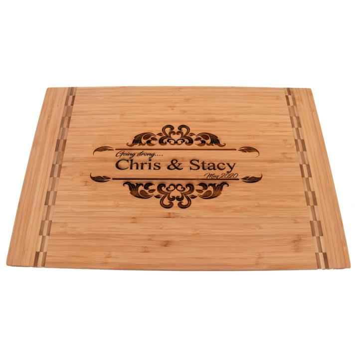 Wedding Gift Cutting Board - Personalized
