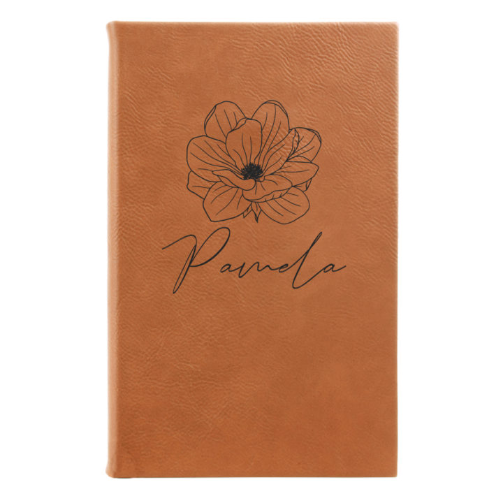 faux leather leatherette journal